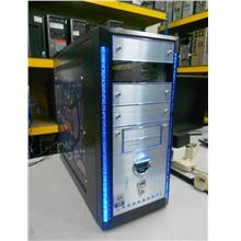 iCute Silver Black Mid Tower Casing 030513