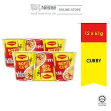 MAGGI Hot Cup Curry 6 Cups 59g x2 Multipacks ExpDate:JUN'21