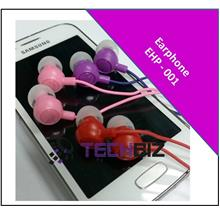 Earphone  Smile Face Headset MP3 Earphone