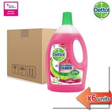 Dettol Multi Action Cleaner Jasmine 2.5L x 6)