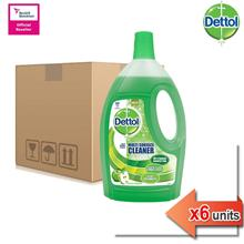 Dettol Multi Action Cleaner Green Apple 2.5L x 6)