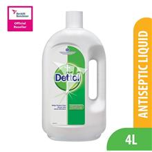 Dettol Brown Liquid 4L)
