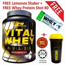 Vital Whey Isolate Halal 1kg, 24g Protein + FREE Shaker+Shot 80 Sample