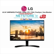 LG 24' 24MP68VQ-P Full HD |1080p | IPS | 75Hz | FreeSync | 5ms Monitor