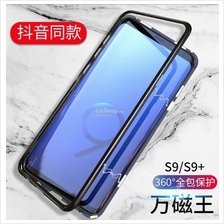 SAMSUNG Note 9 8 S7 EDGE S8 S9 PLUS MAGNETIC ABSORPTION METAL CASE
