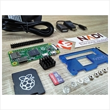 Raspberry Pi Zero Kit + microSD + HDMI USB OTG + Acrylic Case + Power Supply