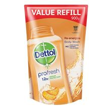 DETTOL Reenergize Shower Gel Refill 900ml)