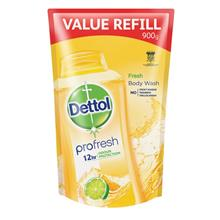 DETTOL Shower Gel Refill Fresh 900ml)