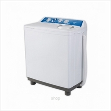 Khind Semi Auto Washing Machine White 12Kg/7KG - WM1200