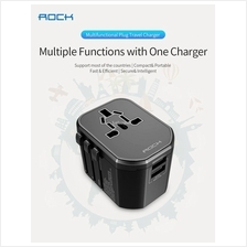 ROCK T20 Multifunctional Plug Travel Charger)