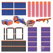 Nerf Soft Bullet 100pcs Refill Darts Bullet for Nerf N-strike Series (