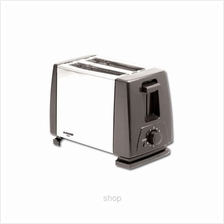 Khind 2 Slices 2 Slot Toaster Stainless Steel - BT802