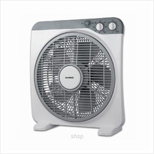 Khind 12 iNch Slim Box Fan Light Grey - BF12S