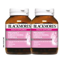 BLACKMORES Pregnancy BreastFeeding Formula 2 x 60s)