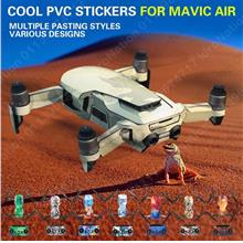 DJI Mavic Air Body Remote Controls PVC Stickers Warps Protectors Skins