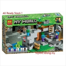 MINECRAFT THE ZOMBIE CAFE 21141 LEGO COMPATIBLE BRICK