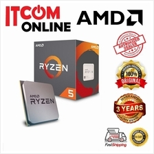 AMD RYZEN 5 2600 3.4GHZ SOCKET AM4 PROCESSOR (YD2600BBAFBOX)