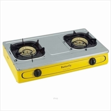 Butterfly Stainless Steel Double Gas Stove - BGC-922