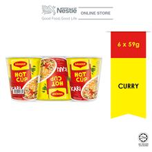 MAGGI Hot Cup Curry 6 Cups 59g ExpDate:JUN'21