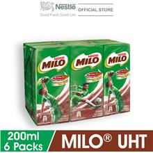 MILO ACTIV-GO UHT 6 Packs 200ml)