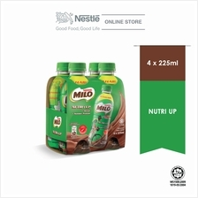 MILO ACTIV-GO Nutri Up 4 Bottles 225ml)