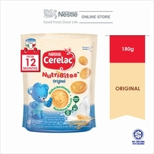 Cerelac Bsct Nutribite Original, 1 pack of 180g)