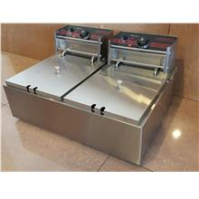 Electric Fryer 2 Tank 2 Basket ID009140