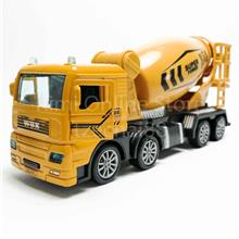 Concrete Mixer Truck 1:50 Die-cast Yellow Model with Box Collection