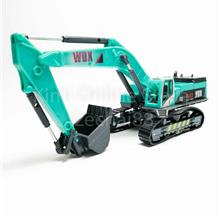 Hydraulic Excavator 1:50 Die-cast Green Model with Box Collection New