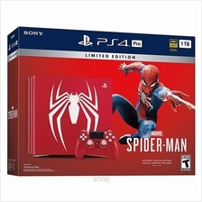 Sony PlayStation 4 Pro Marvels Spider-Man Limited Edition - PCAS05075HA)