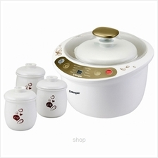 Morgan Double Boiler (1+3Pot) White - MDB-25CT
