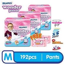 DIAPEX Wonder Pants Baby Diapers Super Jumbo (M60, L50, XL40, XXL32))