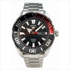 SEIKO . SRPC57K1 . SEIKO 5 . M . Day-Date . SSB . Automatic Black Red