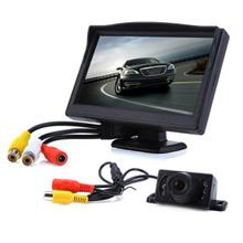 5 INCH HD REAR VIEW CAR AUTO VEHICLE PARKING BACKUP 170 DEGREE CAMERA WITH DIS