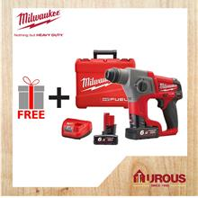 MILWAUKEE FPD PACKAGE FUEL SDS PLUS COMPACT ROTARY HAMMER M12CH-602C