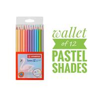 STABILO Swans Pastel Edition Colored Pencils (12 colors))