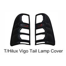 Toyota Hilux Vigo Tail Lamp Cover ABS Black