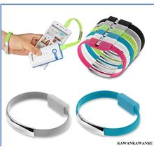 NEW Bracelet Micro USB Data Charging Sync Cable For Android And iphone