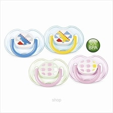 Philips Avent Soother Fashion BPA Free 0-6M Twin Pack - SCF172-18