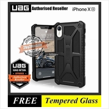 Official UAG Urban Armor Gear Monarch iPhone XR case cover - black