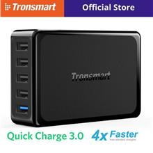 Tronsmart U5PTA 54W 5-Port USB Desktop Charger Quick Charge 3.0)