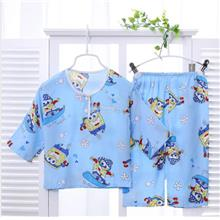 Super Soft Ice Cool Kids Pyjamas/Sleepwear (Blue Spongebob)