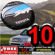 TOYOTA SOFT REAR SPARE JEEP TYRE TIRE WHEEL COVER HEAVY B10332TA27H2