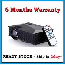[ 6 Months Warranty ] UC46 WIFI Full HD 1200 Lumens LED Projector