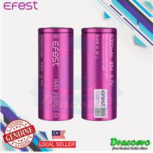 Authentic Efest IMR 26650 5000mAh 45A Flat Top Battery Vape E-Cig