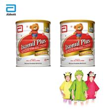 Isomil Plus 850G x 2 Tins with Bathrobe Ladybird)