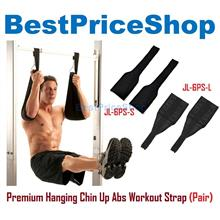 Premium Hanging Chin Up 6 Six Packs Abs Strap Pull Ab Workout Straps