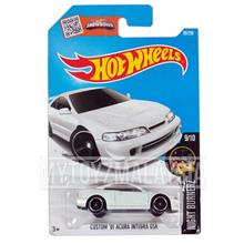 Hot Wheels 2016 Night Burnerz: CUSTOM '01 ACURA INTEGRA GSR  [White]