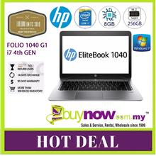 REFURBISHED USED LAPTOP NOTEBOOK HP ELITEBOOK FOLIO 1040 G1 i7/8GB/256