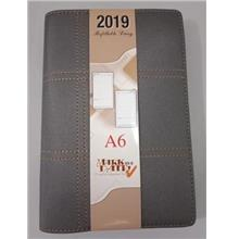 Year 2019 Daily Planner A6